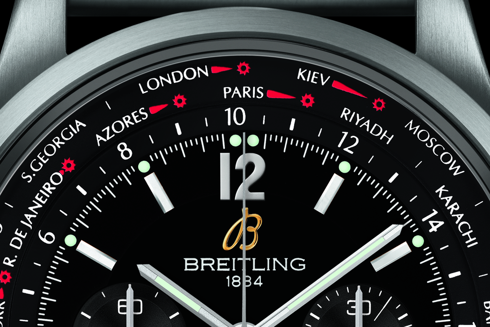 The Worldtime Complication, With Both Cities and 24-hour rings