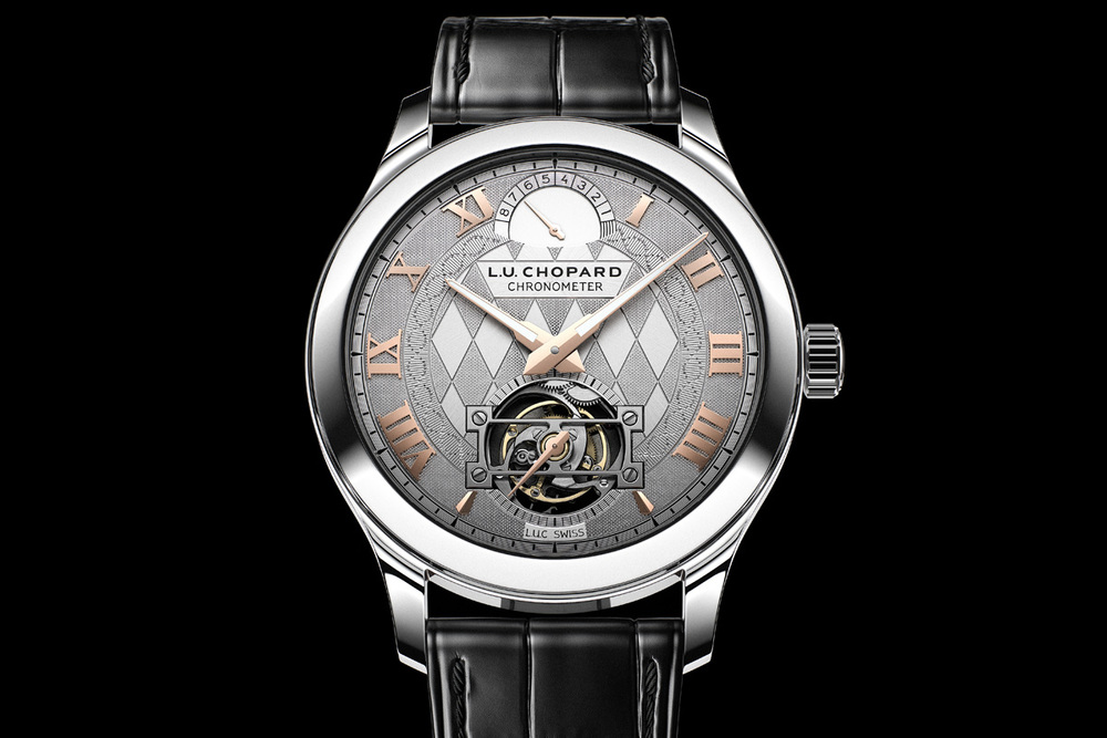 L.U.C Tourbillon Only Watch 2013 Dial