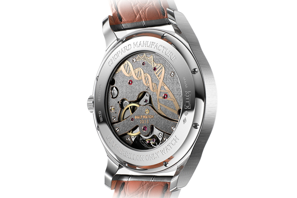 Only Watch 2013, Fleurisanne Engraved Back