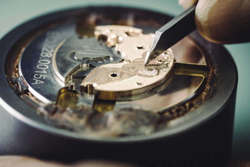 Engraving The Plate By Hand