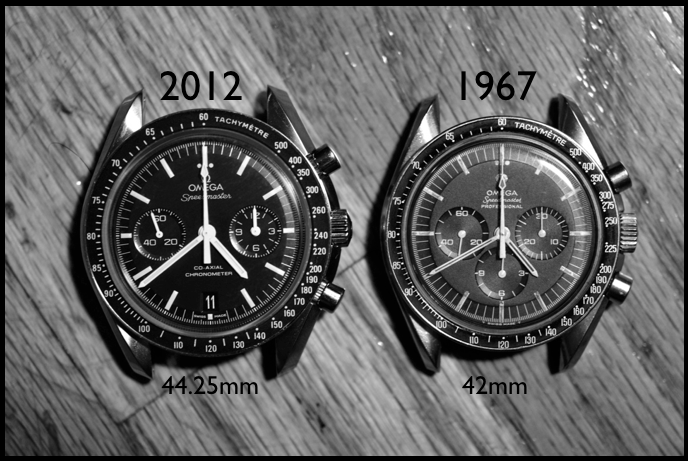 Image via Blake's 2012 review of the first Speedmaster Co-Axial with caliber 9300 - Click to read.