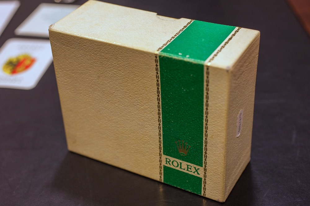 Outer Rolex Box