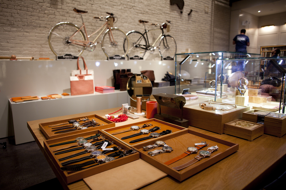Watches, Bikes, And Leathergoods