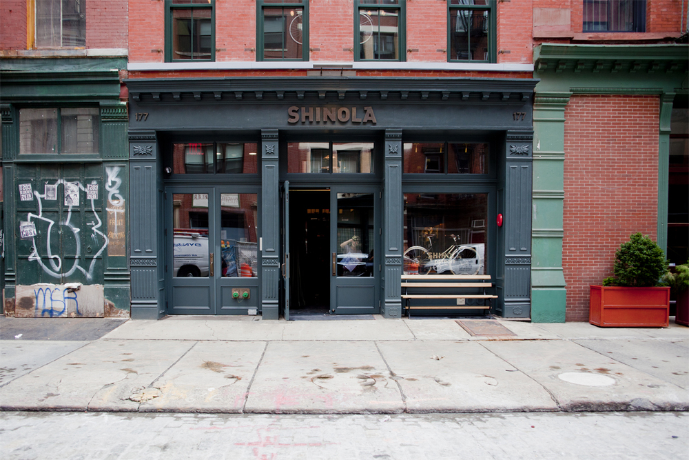 Shinola At 177 Franklin Street