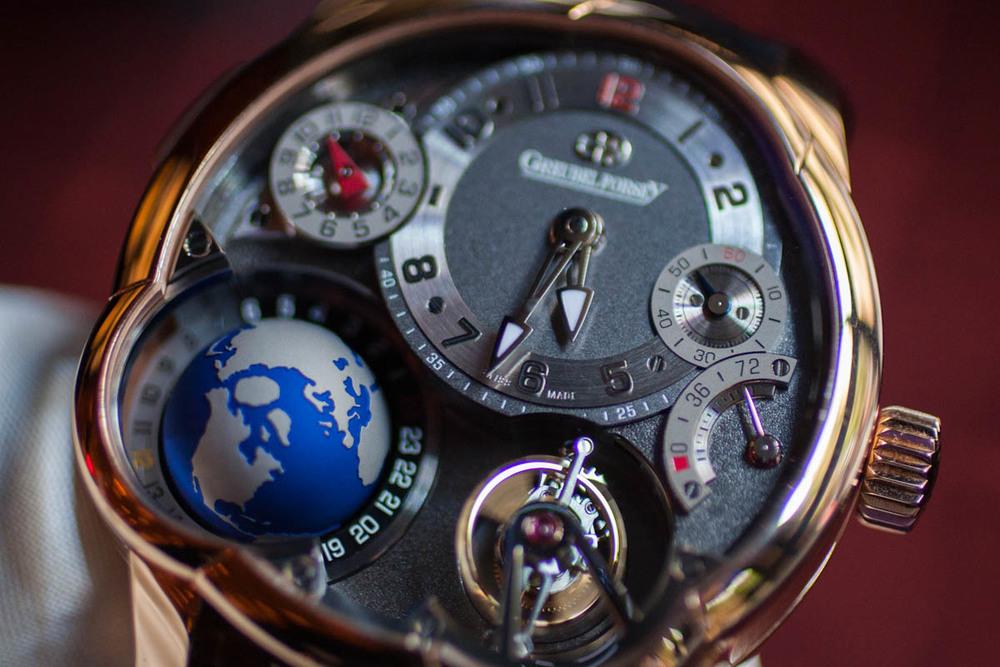 Titanium Worldtime Globe