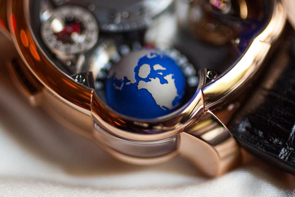 A Closer Look At The Titanium Globe