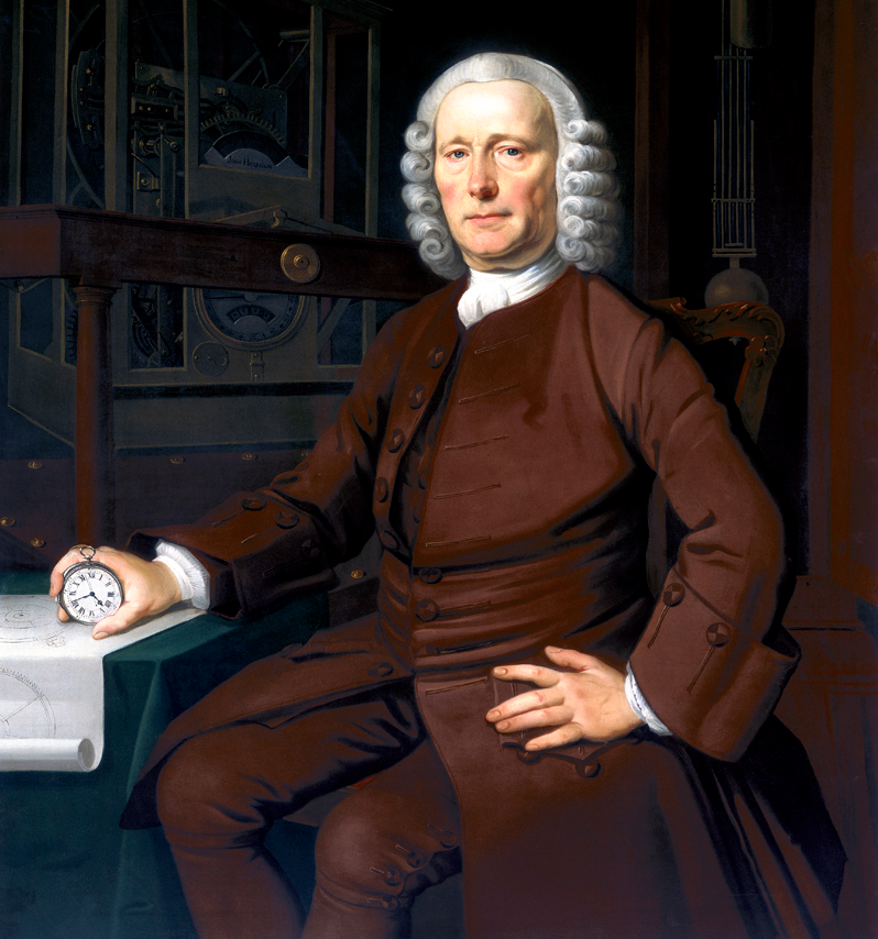 John Harrison, by Thomas King (1767)