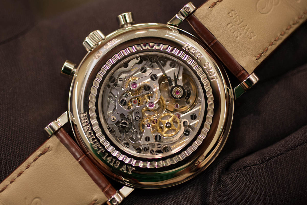 Breguet Cal. 533.3 Through The Sapphire Back