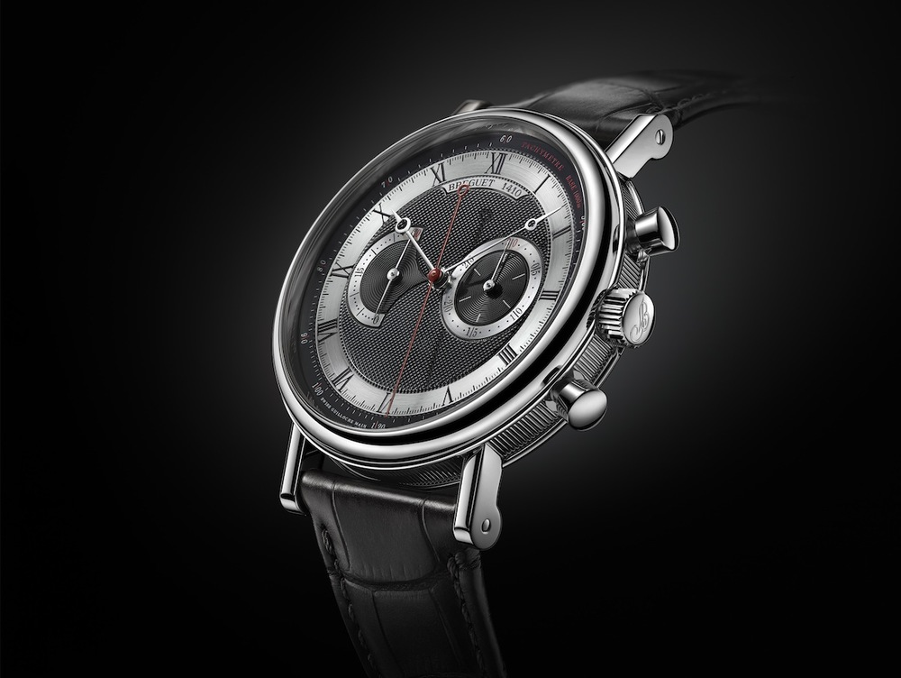The 5287, White Gold Case, Black Dial