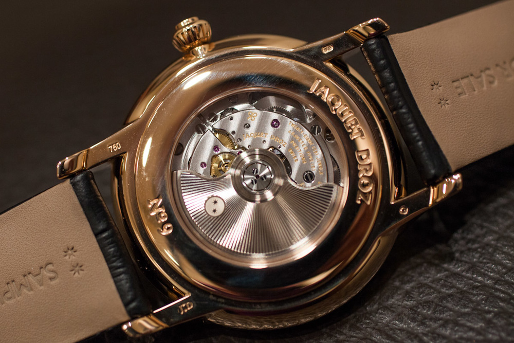 In-House Jaquet Droz Calibre 5N50.4 Movement