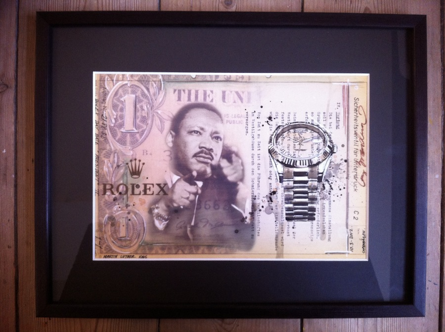 Martin Luther King, Jr. And His Rolex By Cay Broendum
