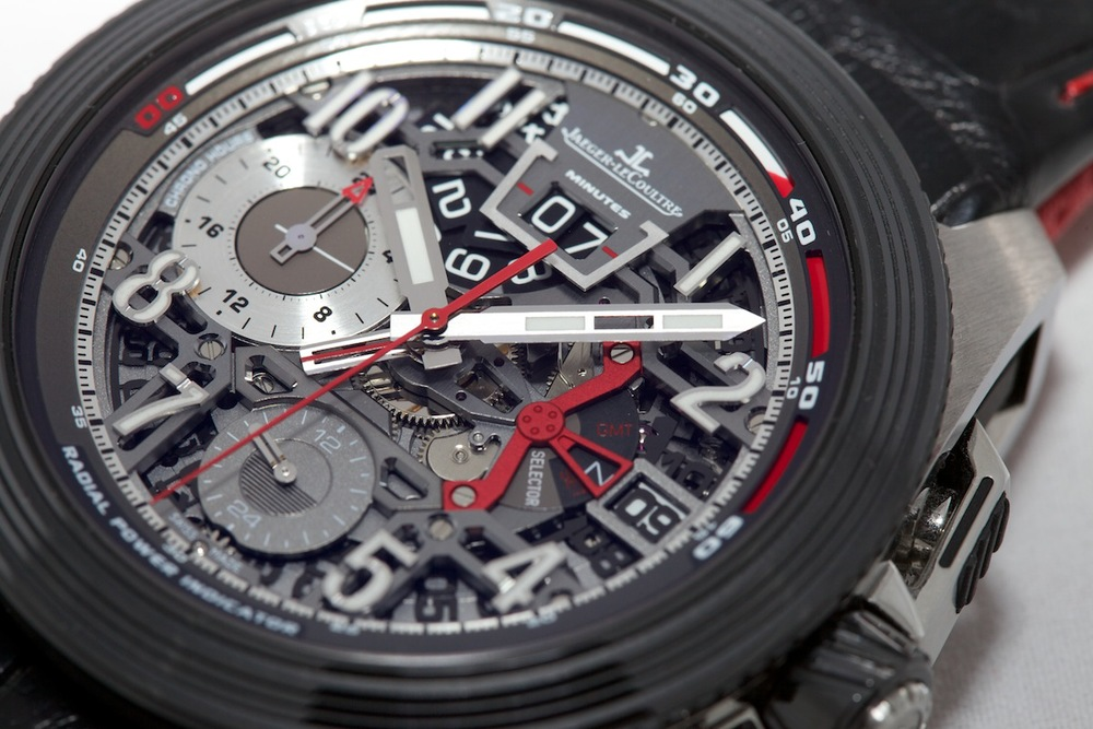 Radial Power Reserve Indicator Along The Top Edge Of The Dial