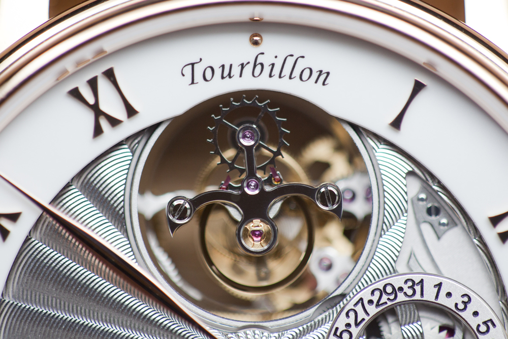 The Tourbillon At 12 O'clock