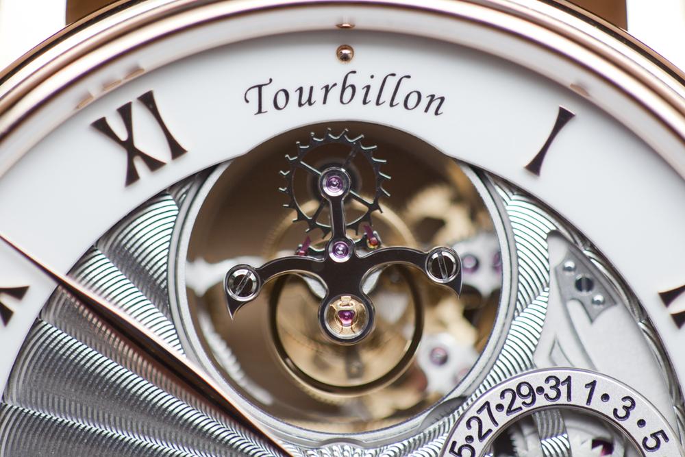 The Tourbillon At 12 O'clock