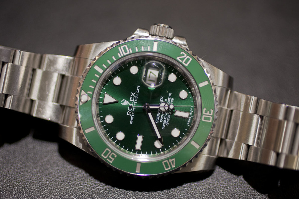 Don Walsh's Green Submariner