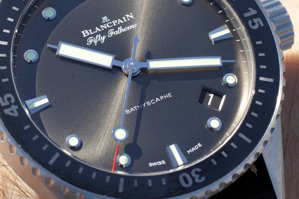 The Bathyscaphe's Dial In The Sunlight