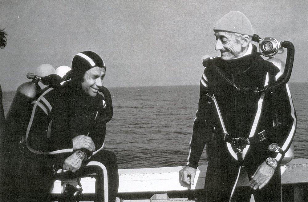 Jacques Cousteau via The Washington Post