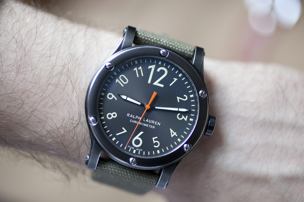 The RL67 Safari Chronometer On The Wrist