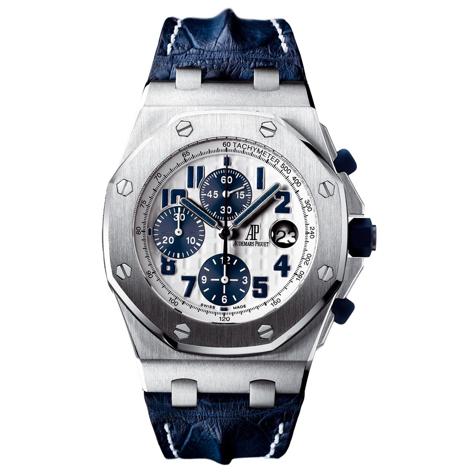 The AP Royal Oak Offshore Navy - Inspiration for the Tommy Hilfiger Eton?