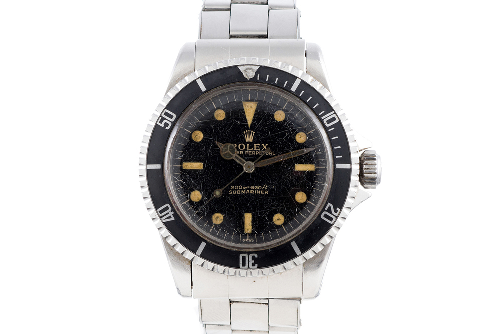 Rolex Submariner 5513 Given To 1964 America's Cup Champion Daniel Putnam Brown, Jr.