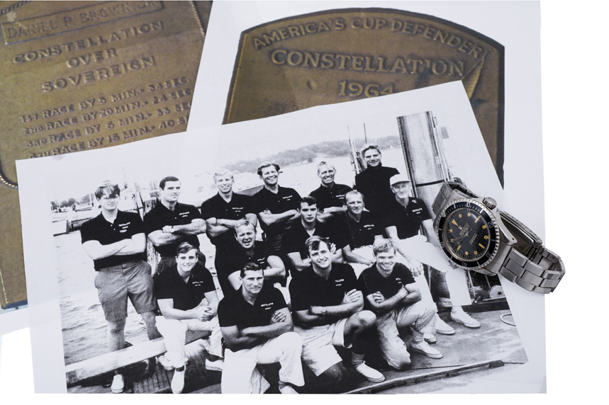 Team Photograph With The Watch