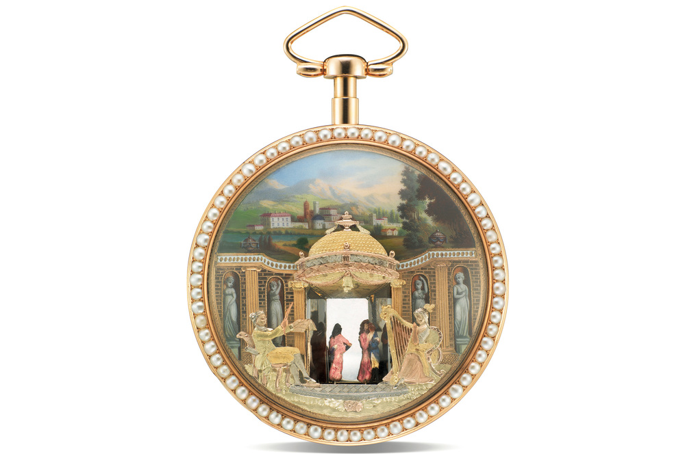 """The Theatre"" Pocket Watch"