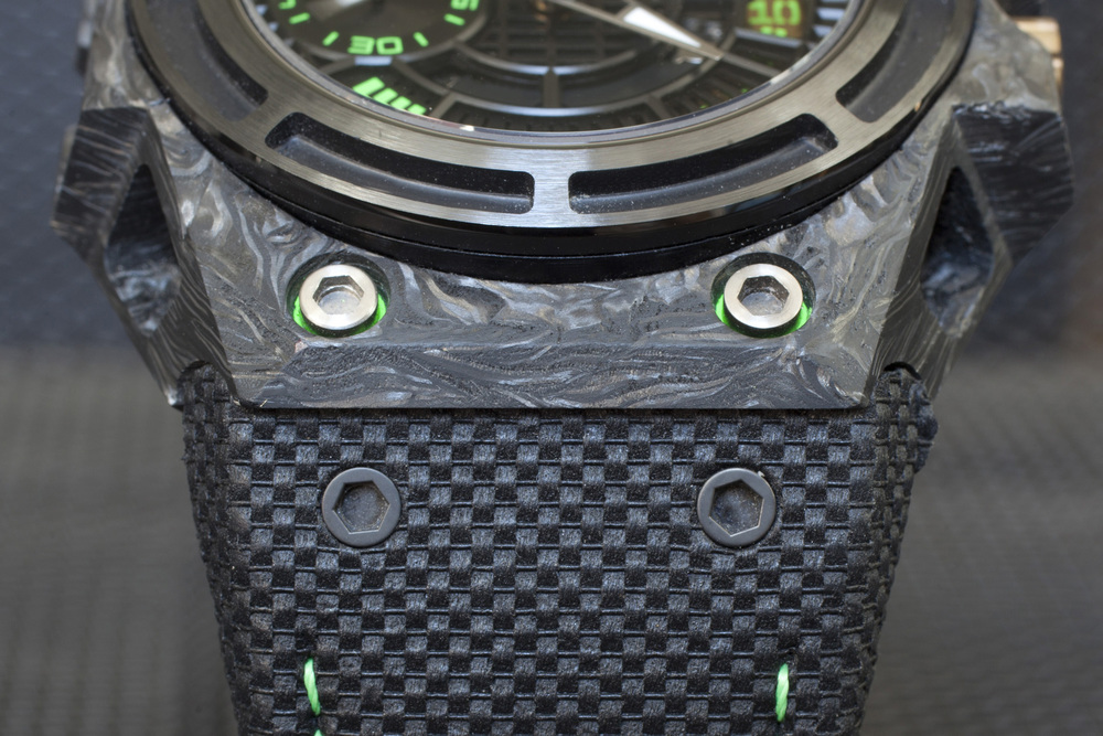 Forged Carbon Case And Integrated Strap System