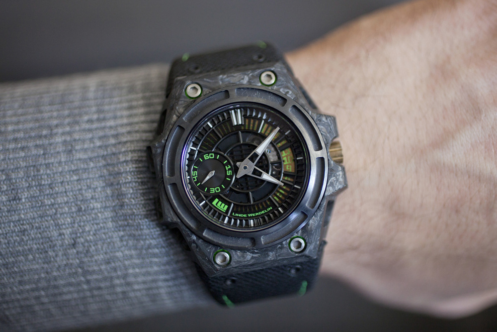 The Linde Werdelin SpidoLite II Tech On The Wrist