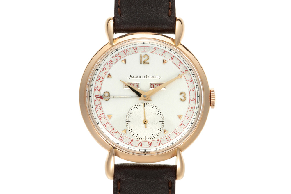 Jaeger-LeCoultre Triple Calendar With French Day/Month