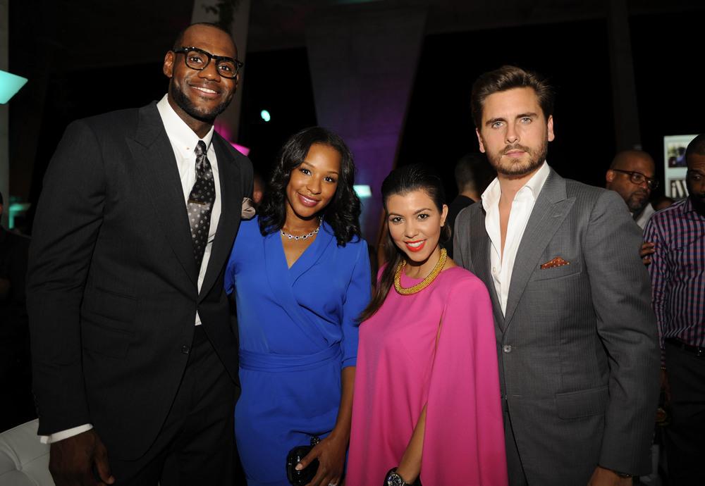 LeBon James, Savannah Brinson, Kourtney Kardashian & Scott Disick.jpg