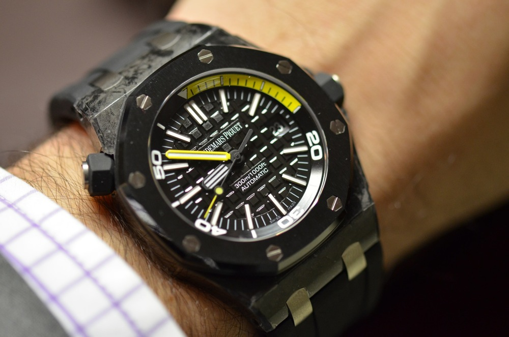 Audemars Piguet Offshore Forged Carbon Diver