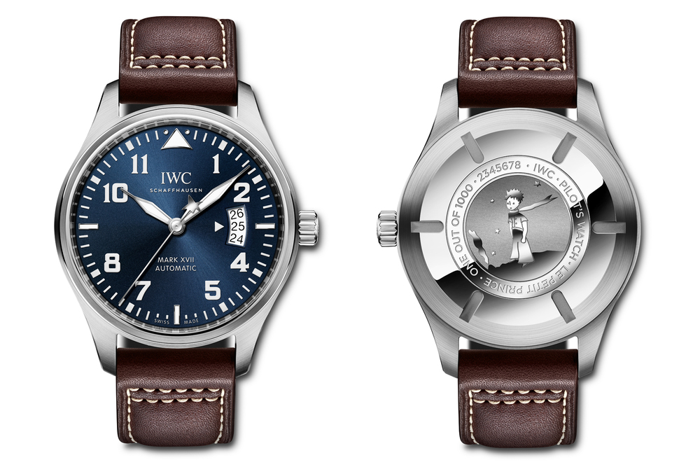 The IWC Mark XVII Edition Le Petit Prince