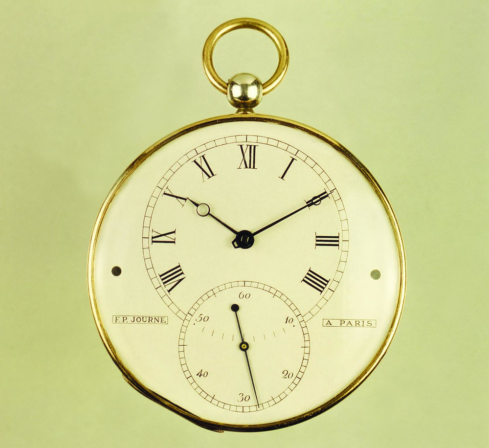 The First F.P. Journe Pocketwatch From 1983