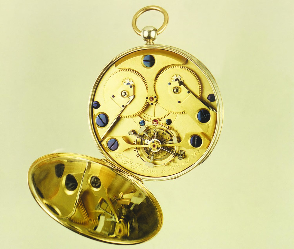 The Tourbillon-Equipped Movement Of F.P Journe's First Watch