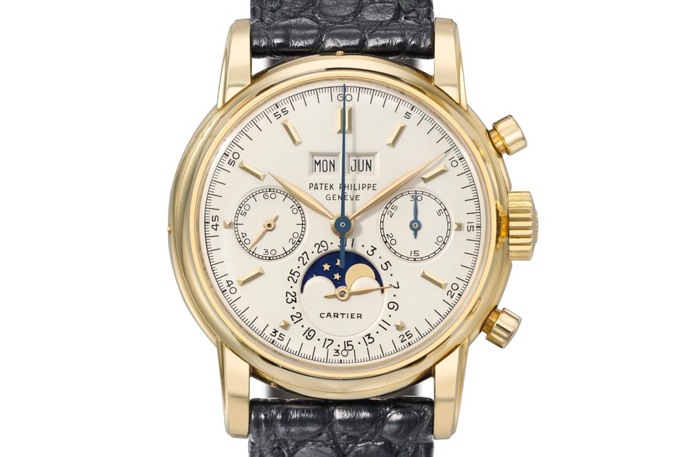 The Only Cartier-signed Patek Philippe Ref. 2499