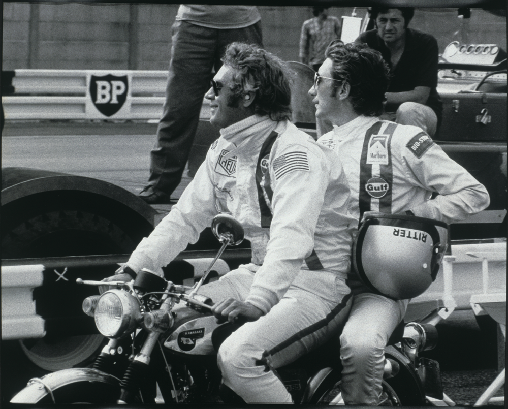McQueen and Siffert became quick friends on the set of LeMans.