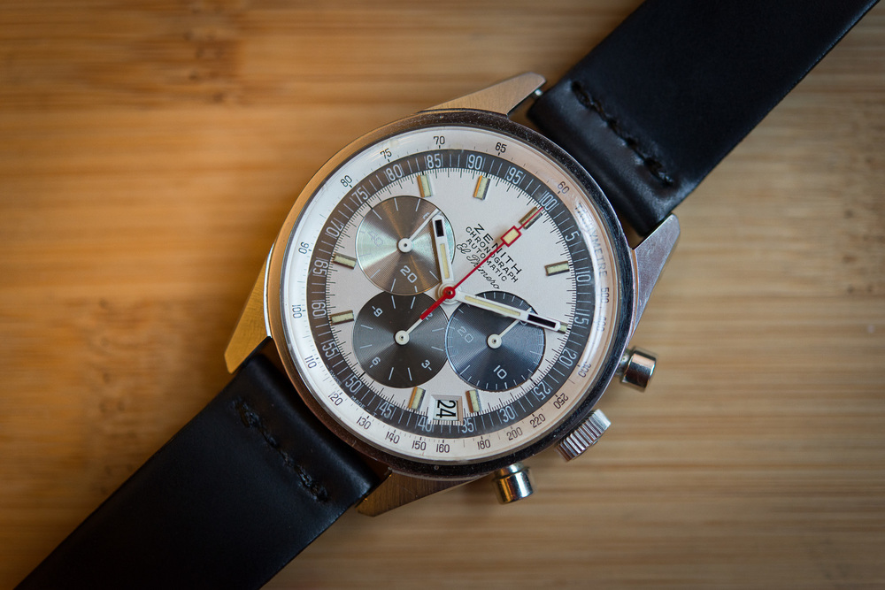 The Zenith Reference A386, in which the Zenith El Primero self-winding movement was launched.