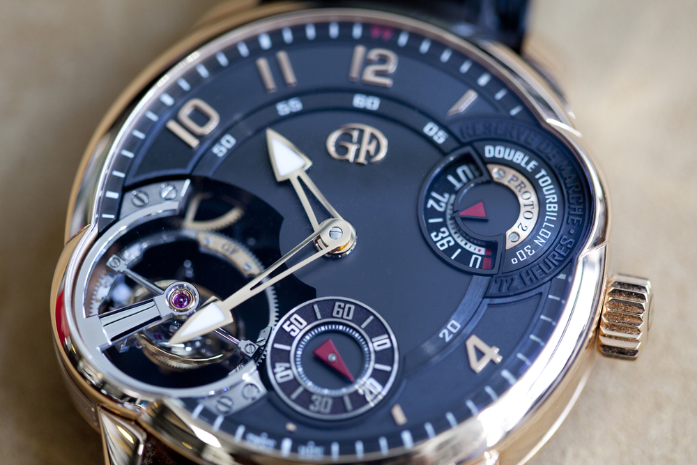 The Greubel Forsey Double Tourbillon Asymétrique