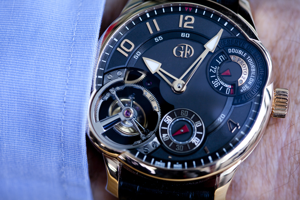 The Greubel Forsey Double Tourbillon Asymétrique In Red Gold