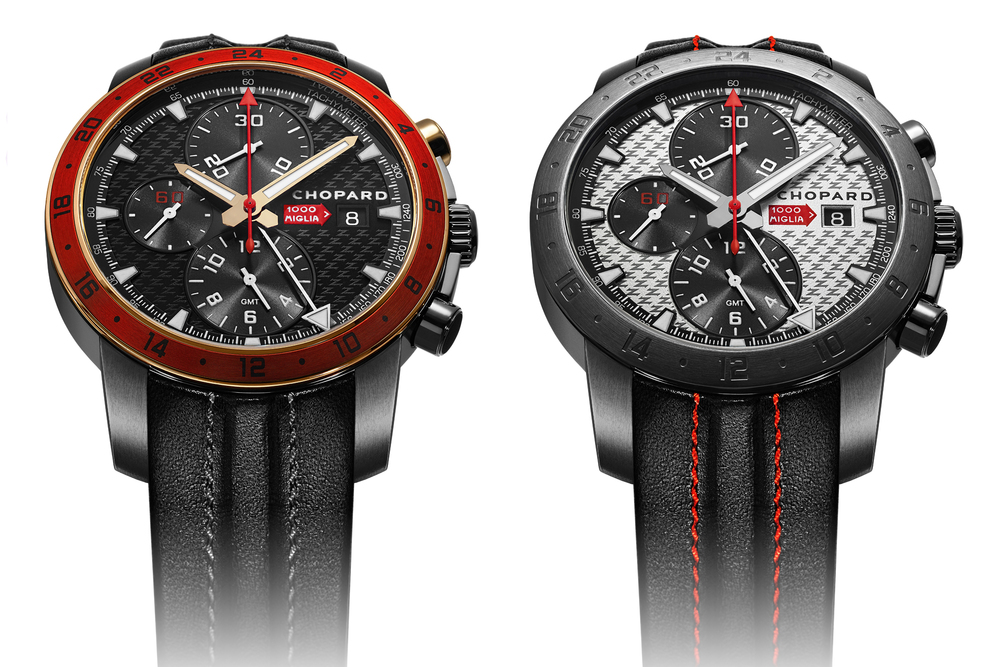 Chopard Mille Miglia Zagato Chronograph, DLC Stainless Steel And Rose Gold and All DLC Stainless Steel