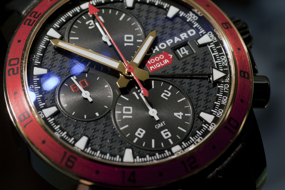 Closer Look At The Mille Miglia Zagato Chronograph's Dial