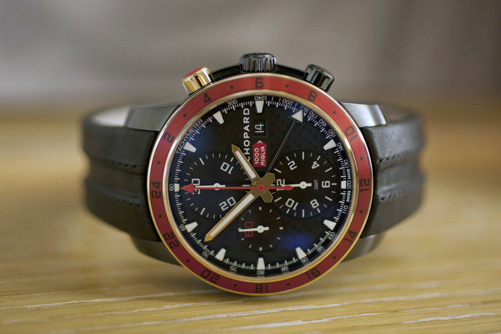 Chopard Mille Miglia Zagato Chronograph, DLC Stainless Steel and 18k Rose Gold