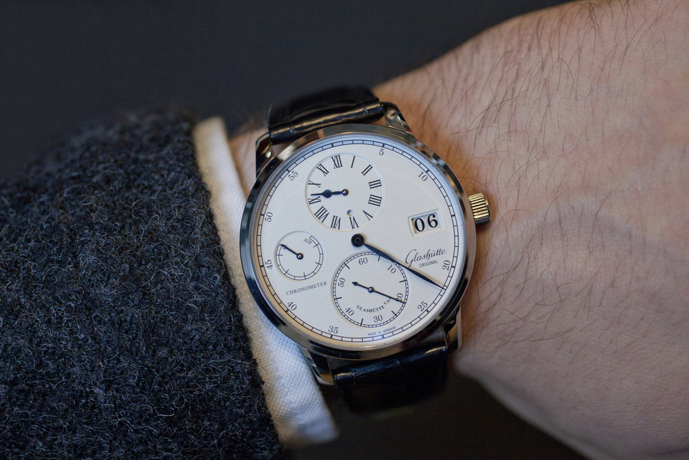 The Glashütte Original Senator Chronometer Regulator On The Wrist