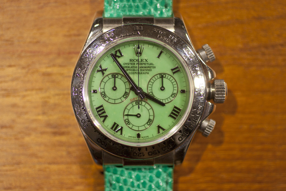 Ref. 116519 with mis-print dial