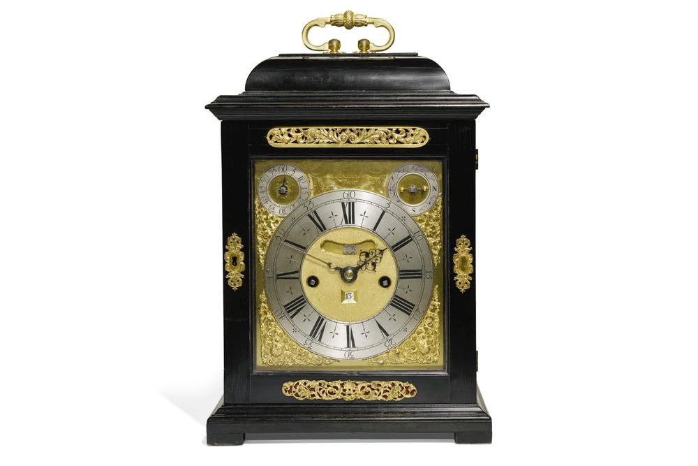 Tompion Clock via Sotheby's