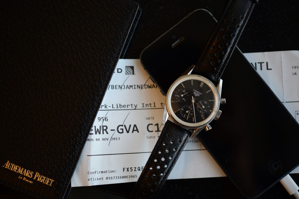 My personal Heuer Carrera dating to 1963 - the 2447N. Will we now see a re-edition of this traditional 3-6-9 layout?