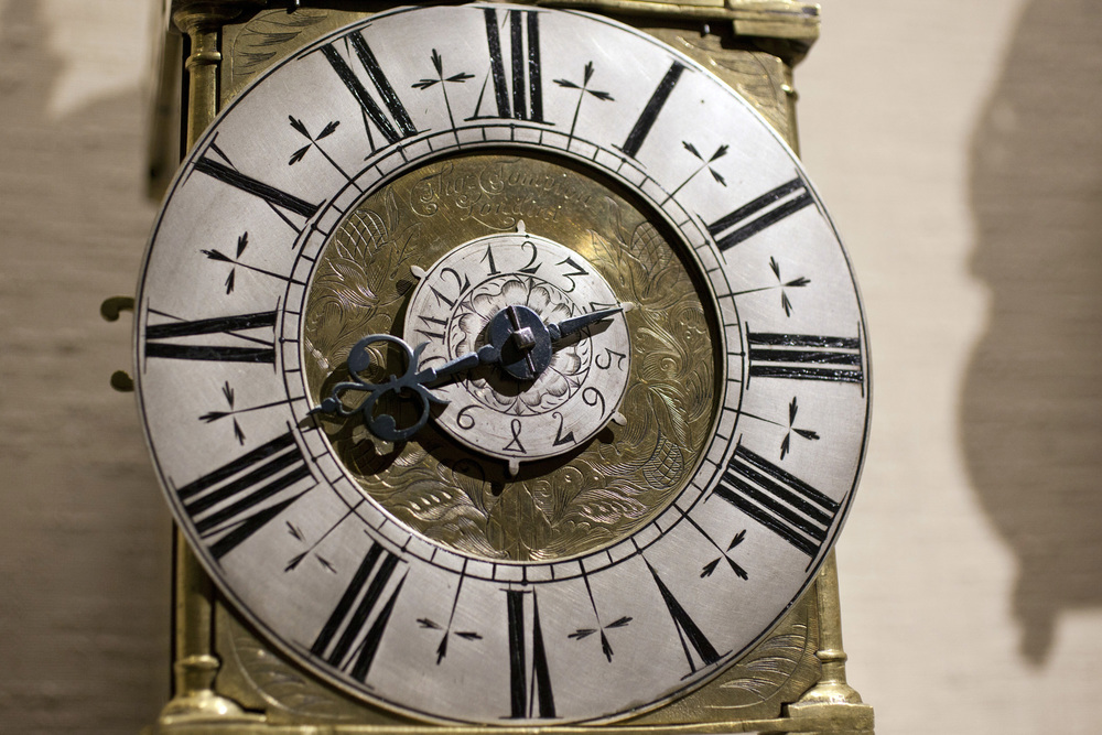 A Closer Look At The Lantern Clock's Dial