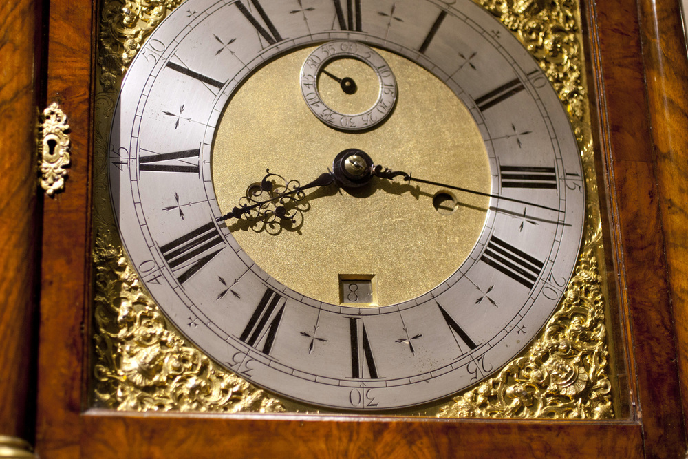 The Dial Of The Month-Going Long Case Clock