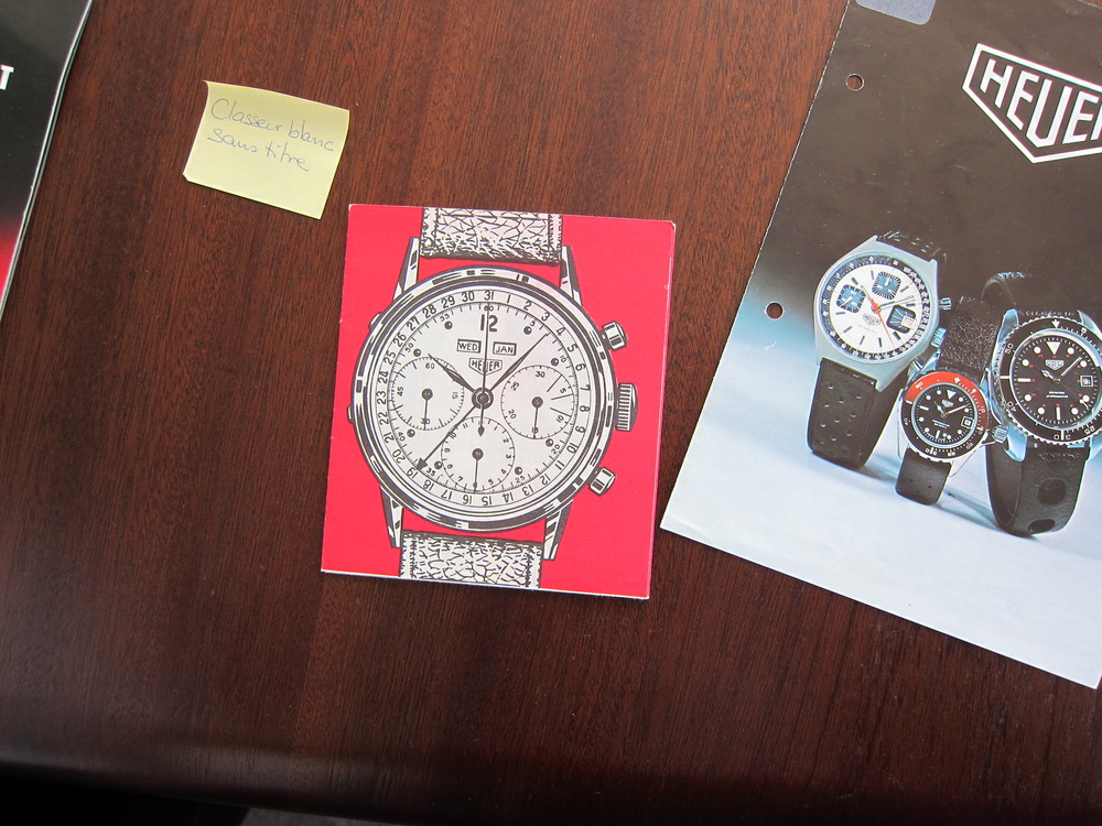 Triple Calendar Chronograph Booklet Heuer Summit.JPG