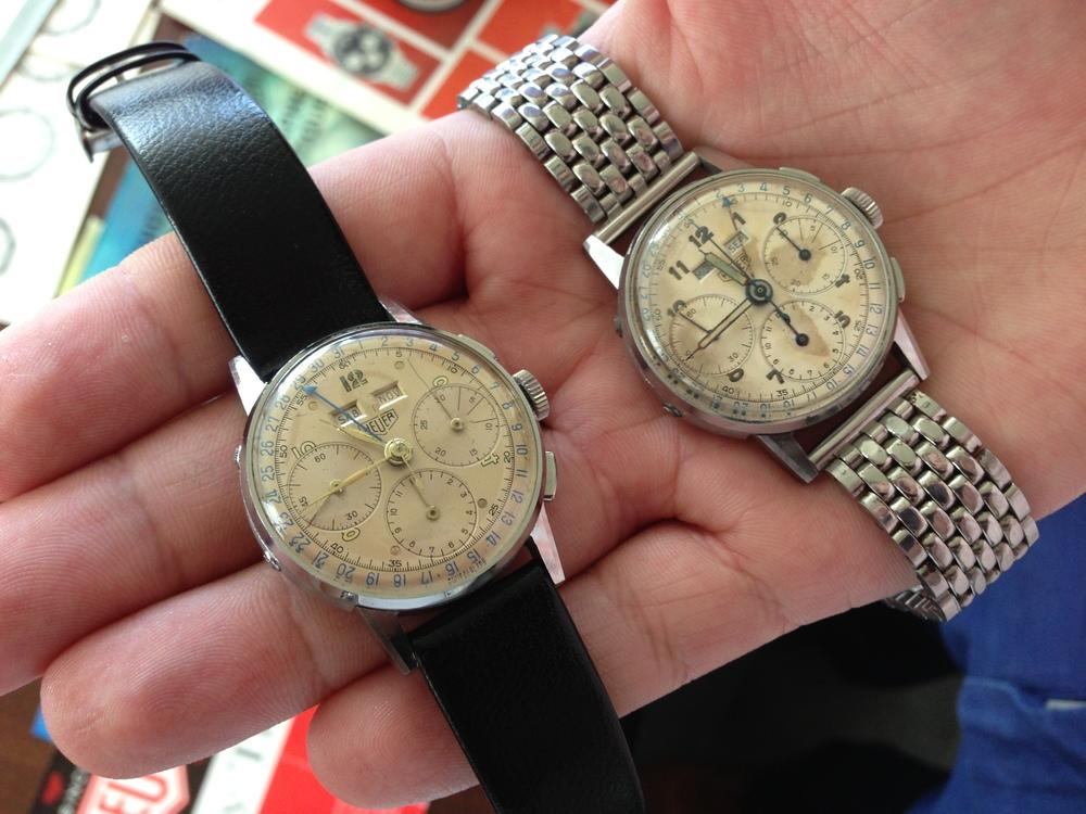 Triple Calendar Chronograph Hand Heuer Summit.JPG